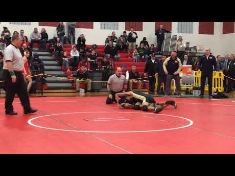 New Egypt's AJ Beck wins by pin in Region 6