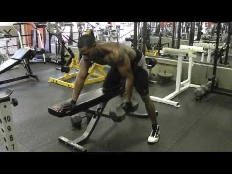 Chest and Back Push Pull Supersets