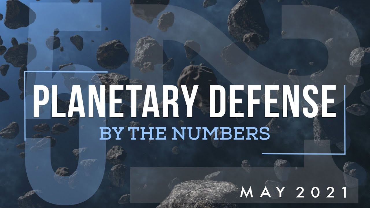 Planetary Defense: By the Numbers - May 2021