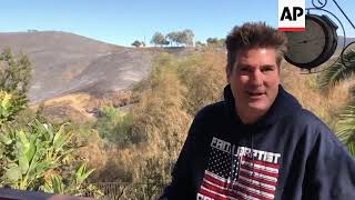 Man says neighbors saved Malibu home from fire