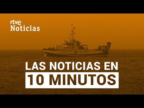 Las noticias del VIERNES 11 de JUNIO en 10 minutos I RTVE Noticias