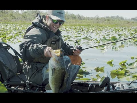 Kayak Bass Fishing Dee Zee The TEN   DAY 1   Kissimmee, Florida