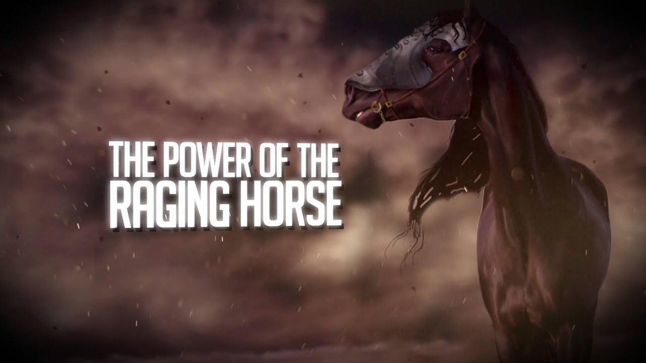 Dragonfire of Fire - The Power of the Raging Horse [OFFICIAL LYRIC VIDEO]