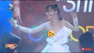 Bravo, ai stil! (16.02.2019) - I-a cazut rochia? Corina a dansat cu un san afara!