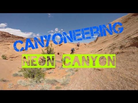 Canyoneering Utah || Neon Canyon