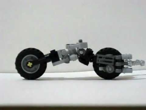 Lego Batman Custom BATPOD From The Dark Knight Movie YouTube