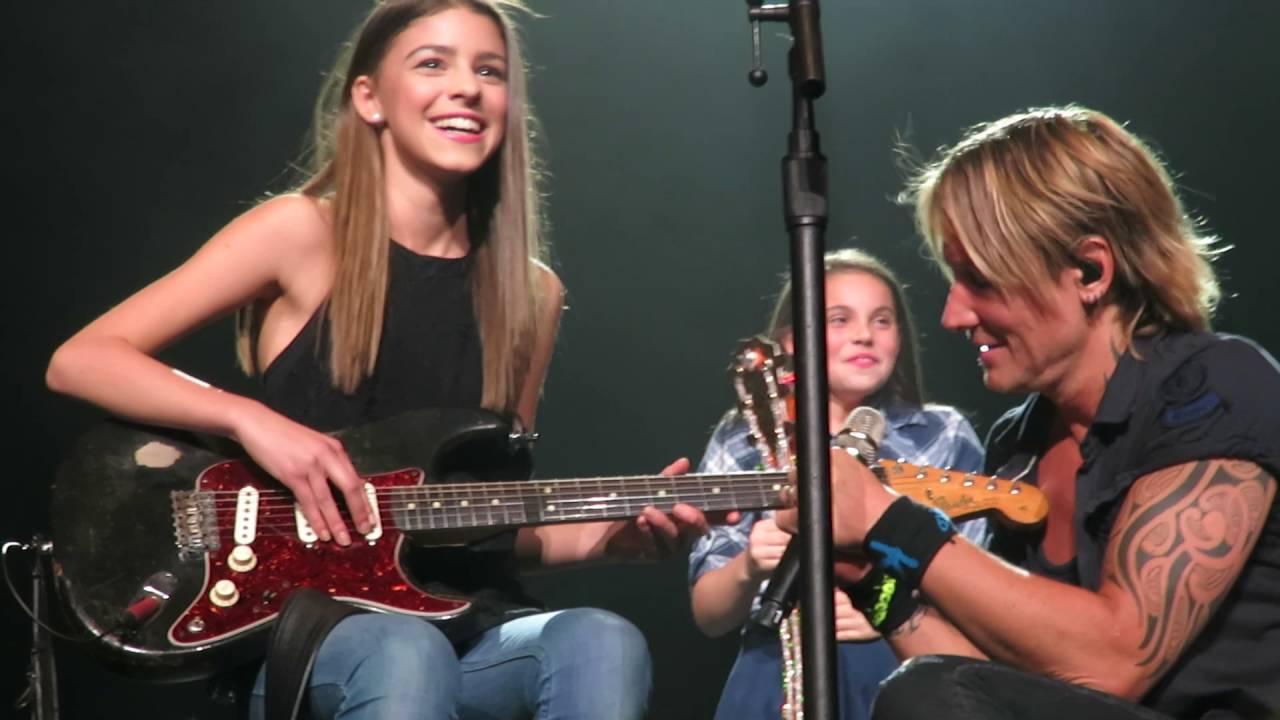 2016 Ford Trucks >> Keith Urban bringing Hailey Benedict up on stage - Edmonton - Sept 16/2016 - YouTube