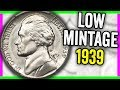 1939 NICKEL WORTH MONEY - OLD COINS TO LOOK FOR IN CIRCULATION!!
