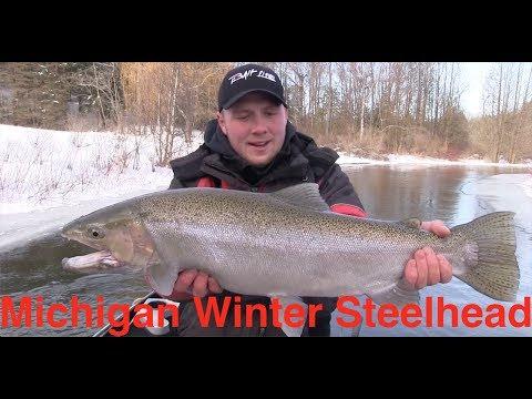 Michigan Winter Steelhead Fishing