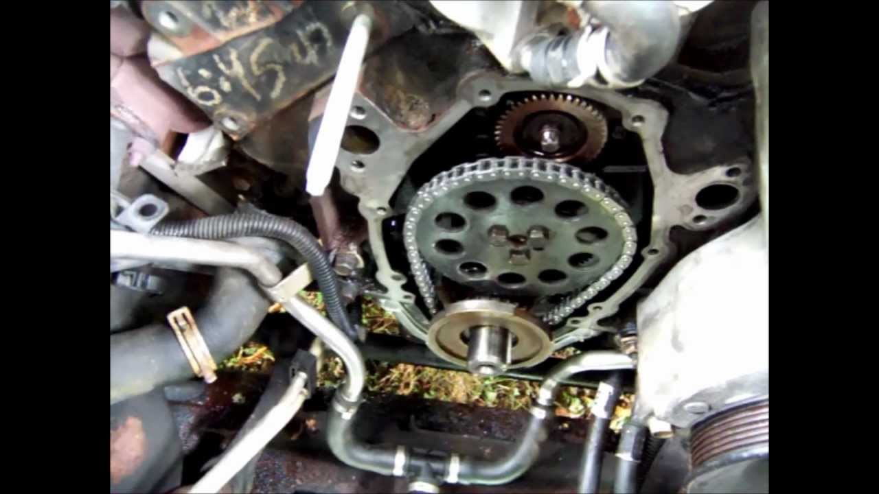 Chevy s10 plastic timing cover leak 43 youtube freerunsca Gallery
