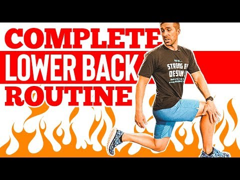 COMPLETE Lower Back Exercise Routine 🔥 Strengthen & Stretch Your Spine