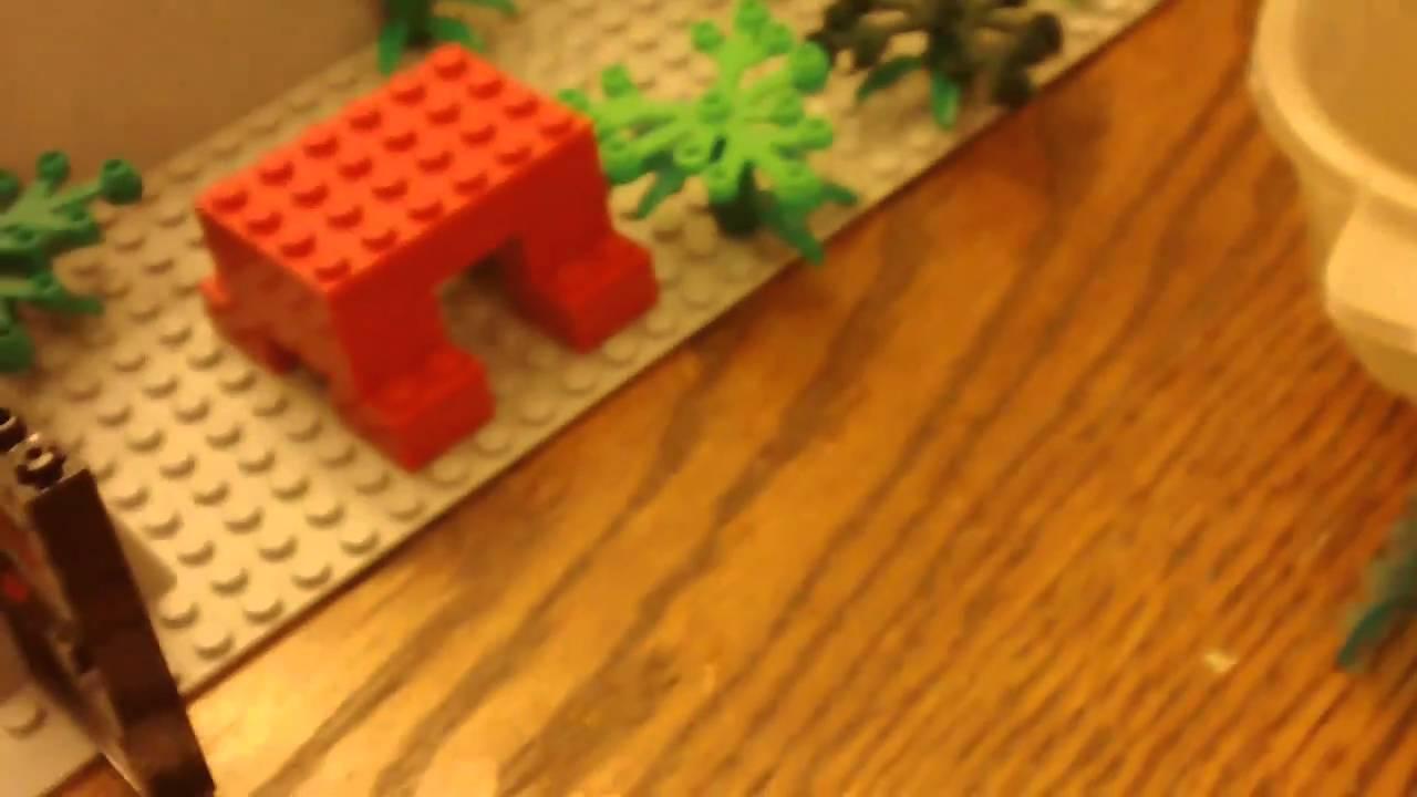 Lego Jumanji Pt YouTube - Lego minecraft hauser