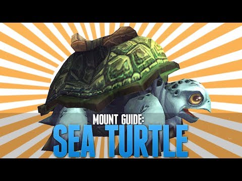 WoW - Sea Turtle Mount Guide! [Solo-able]