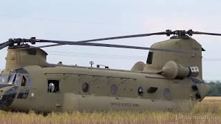 """CH 47 """"Chinook""""; Testlauf vom 8. Juni 2018 nach Notlandung"""