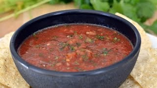 Restaurant Style Salsa Recipe | How To Make Basic Salsa | SyS