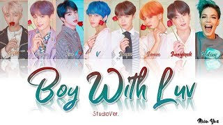 BTS (방탄소년단) – Boy With Luv (작은 것들을 위한 시)Feat. Halsey(Studio Ver.) (Color Coded Lyrics Han/Rom/Eng)