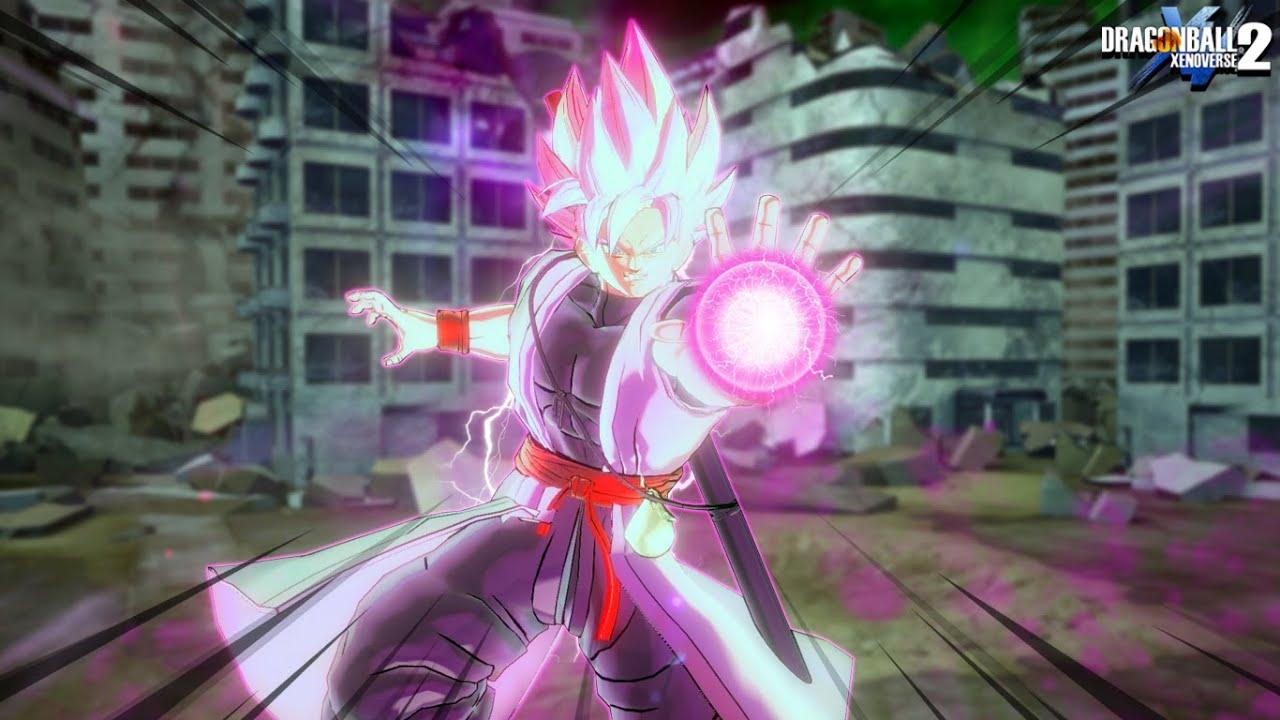 Xeno Goku Black !? - Dragon Ball Xenoverse 2 MOD (Base-SSR)