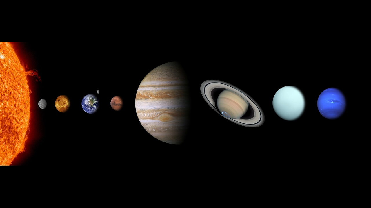 Canción De Los Planetas Actualizada 8 Planetas Youtube