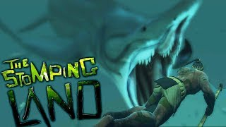 WHEN PREHISTORIC CREATURES ATTACK! SECRET TITANOBOA CAVE! - The Stomping Land Gameplay