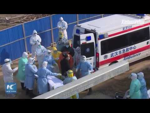 LIVE: SARS treatment-model hospital in Wuhan receives first patients