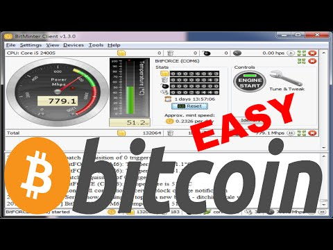 How to quickly start mining bitcoins [Easy]
