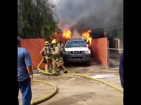 Dog's Best Friend: Man Runs Into Burning Home to Save Pet