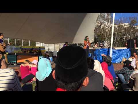 Ku Relakan Jiwa - I Am Neeta (Malaysia Fest 2014, Tumbalong Park, Sydney, Australia)