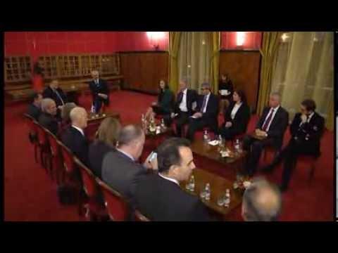 Kryeministri Edi Rama pret Zëvendëskryeministrin e Greqisë, Evangelos Venizelos