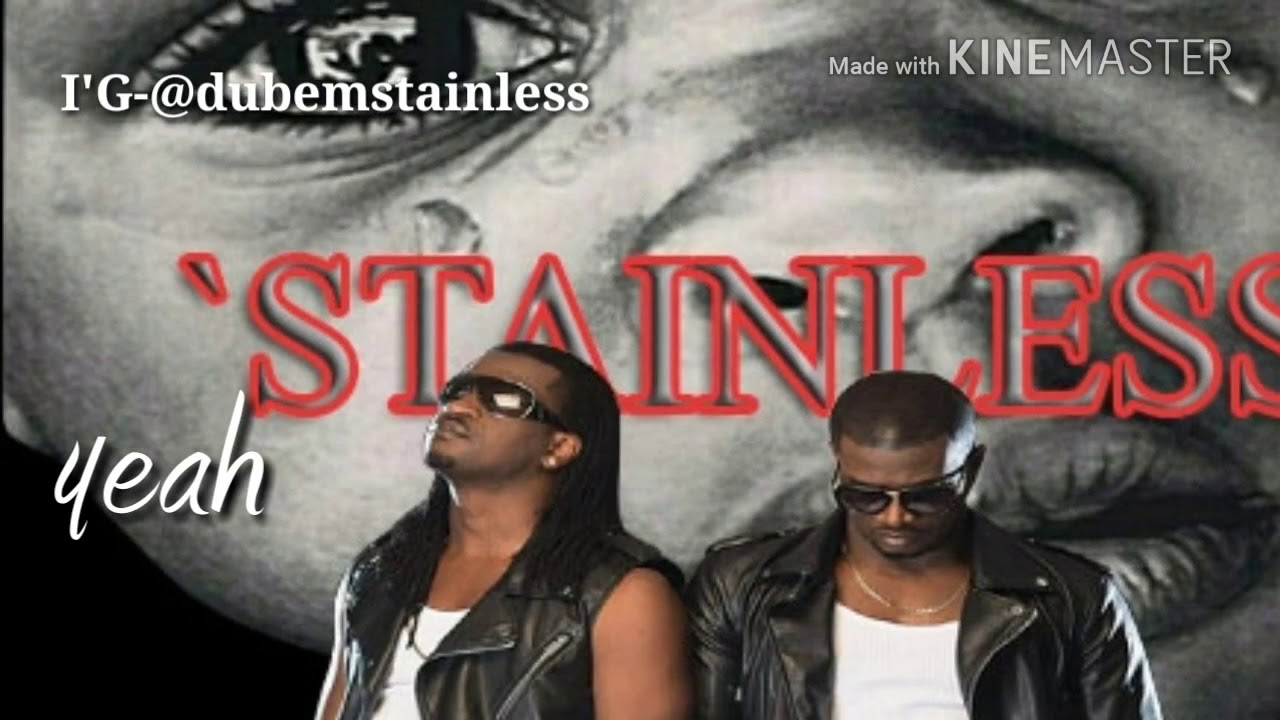Psquare number one fan Stainless letter