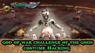 God of War Challenge of The Gods Costume Hacking