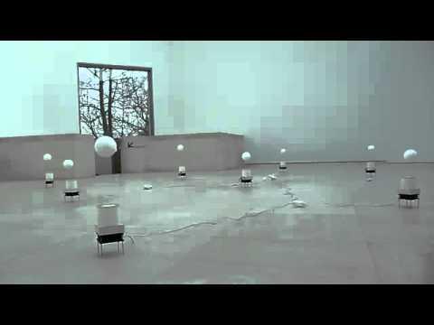 Attila Csörgő - How to Construct an Orange?, Kinetic Sculpture 1993-94