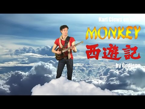 Monkey Magic (theme song from Monkey) by Godiego (solo bass arrangement) - Karl Clews on bass
