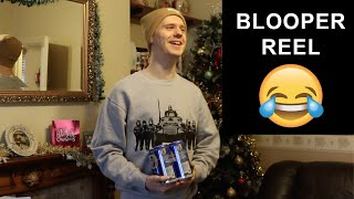 Australian Dislikes His Christmas Gift (Bloopers & Outtakes)