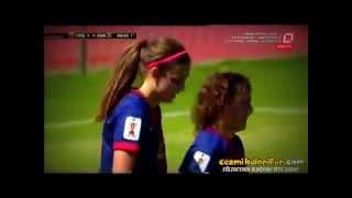 Zidane Çalımı Atan Barcelonalı Kadın Futbolcu - Alexia Putellas