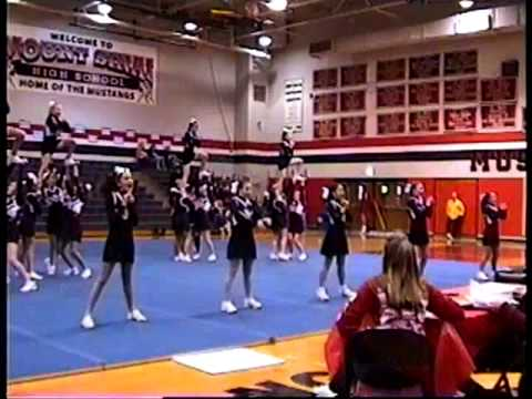 Mount Sinai Middle School Rookie Cheerleading Competition  - Dec 5th 2010
