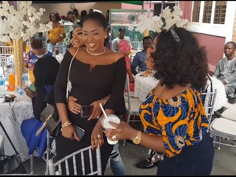 See the beautiful dress slay mamas Rock to Iyabo Ojo's party at her multi million naira Lounge