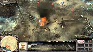 Company of Heroes 2 - M01 - Stalingrad Rail Station - General Difficulty [HD]