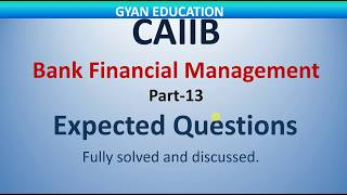 CAIIB Expected Questions   Mock Test   BFM   Part-13   Mod- C