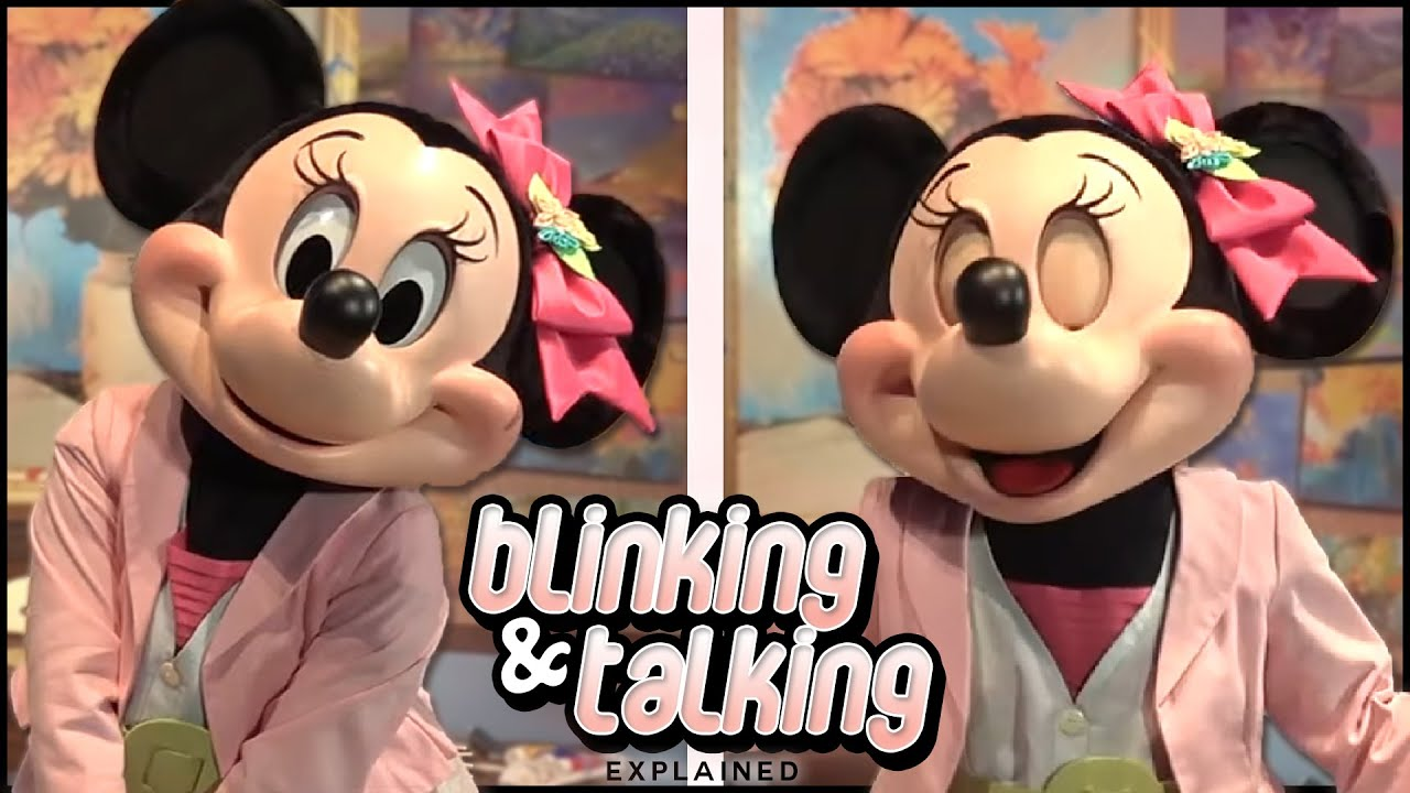 How Disney Characters blink and talk