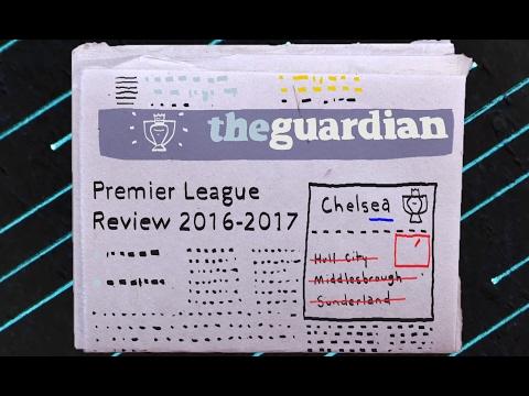 The story of 2016-17 Premier League season