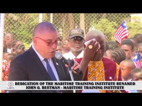 Liberia Maritime Training Institute Official Dedication Ceremony (Marshall, Margibi)