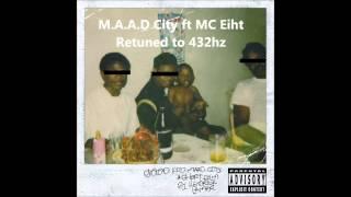 Kendrick Lamar Ft MC Eiht M A A D City 432 Hz