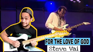 Steve Vai  FOR THE LOVE OF GOD + TAB Cover Gustavo Silva ( STEVE VAI SOLO COVER )