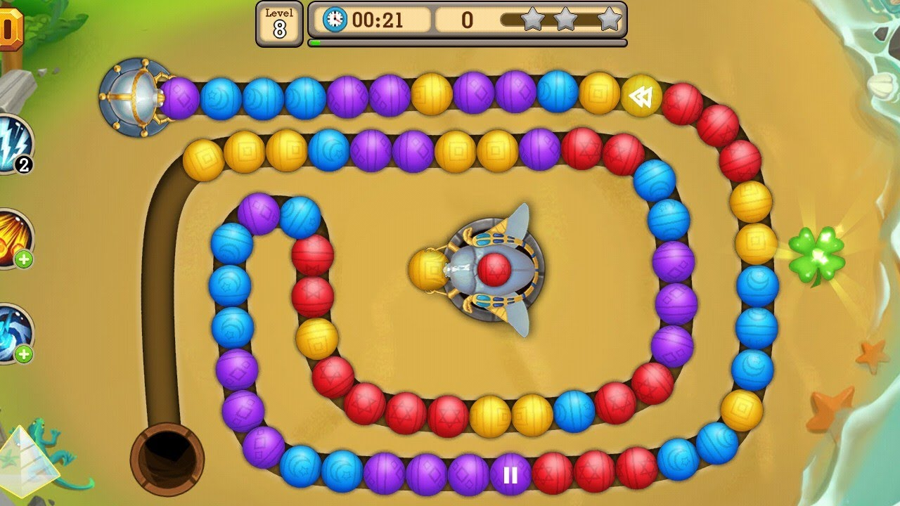 Marble blast gold game