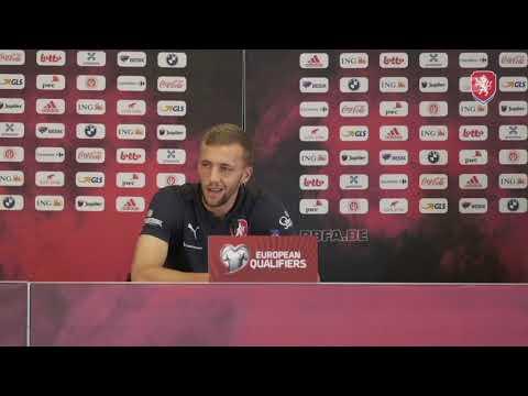 ČR A | Tisková konference před zápasem s Belgií