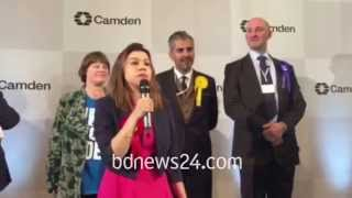 Tulip Siddiq after her win into British Parliament (2)