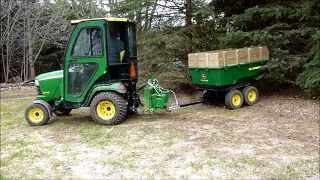 John Deere 17P Tandem Dump Cart
