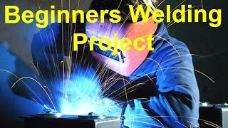 Super Easy Beginner's Welding Project... Plus, Longevity 140 Mig Welder Reviews