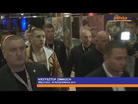 Zimnoch - Binkowski: Wyjście do ringu Krzysztofa Zimnocha from YouTube · Duration:  1 minutes 40 seconds