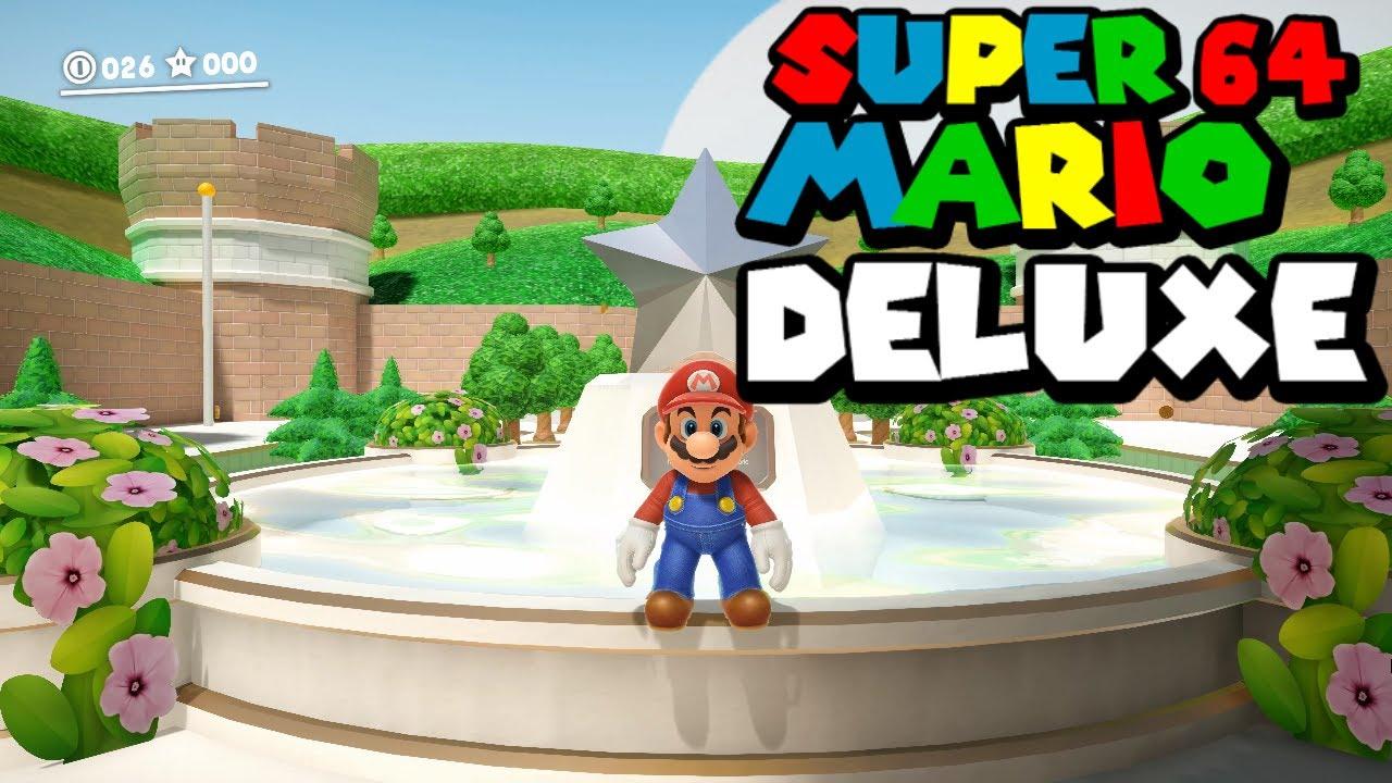 Super Mario 64 Pc Remake 2020 Gameplay 4k 60fps Download
